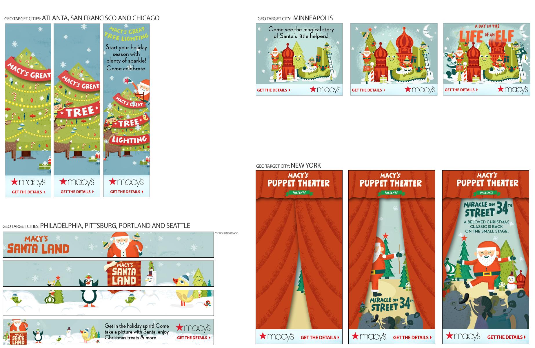 Macy\'s Banner Ads – KRISHNA PUROHIT